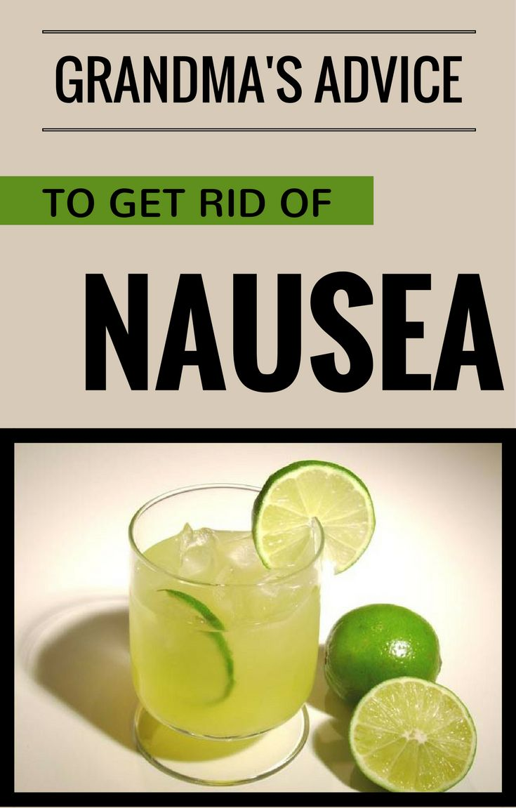 You can get rid of nausea using grandma's remedies. They work and you don't need to take pills to get rid of nausea symptoms. A simple tea or fresh will put you back on your feet instantly. And below, there are some natural remedies that grandma used to use for nausea. – With lemon juice …