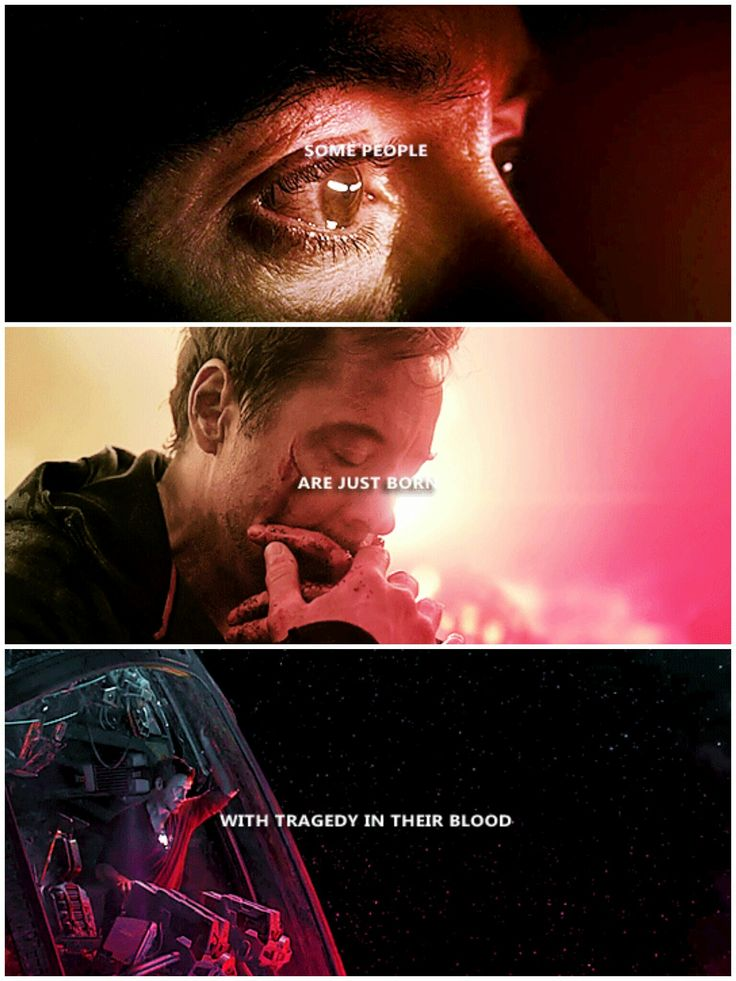 Part of the journey is the end. #tony stark#avengers: endgame