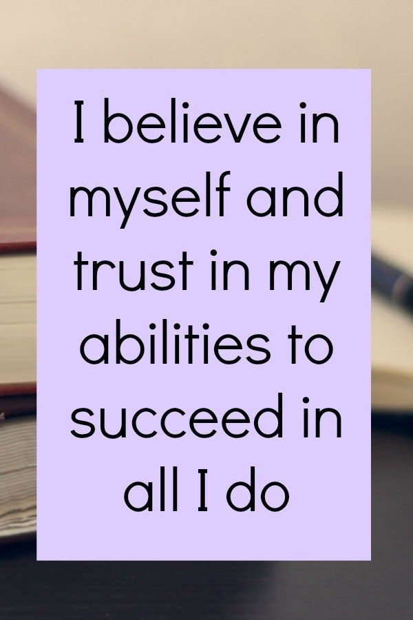 Empowering affirmations for business success