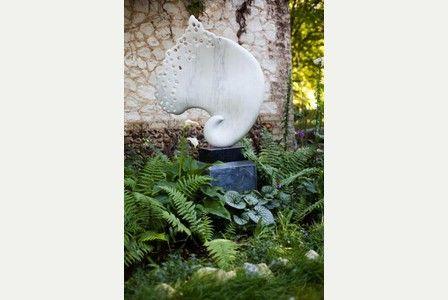 Mel Fraser Cambridge artist's bid to show how sculpture can work in your back garden | Cambridge News www.melfraser.com
