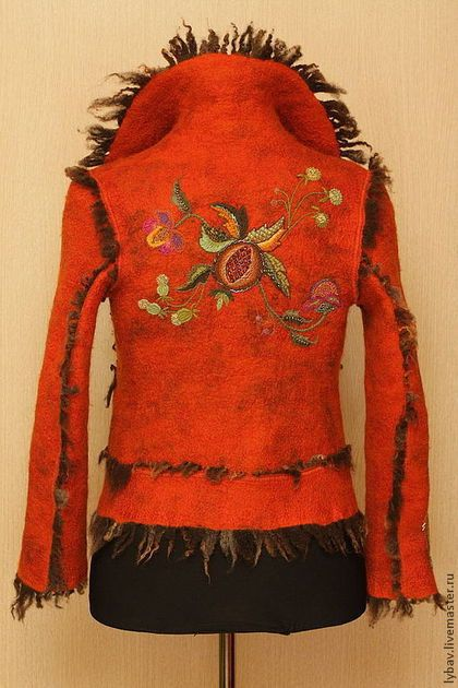 Пиджаки, жакеты ручной работы. Дикий, рыжий, влюбленный. Любовь Воронина. Интернет-магазин Ярмарка Мастеров. Одежда из войлока