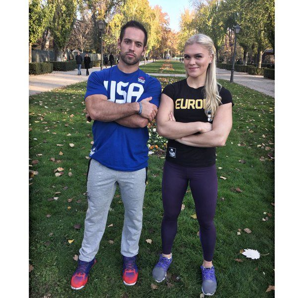 Rich Froning and Katrín Tanja Davíðsdóttir