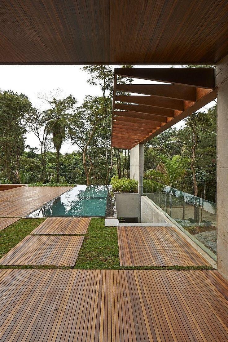 Lovely Bosque Da Ribeira Residence By Anastasia Arquitetos