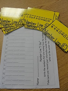 number line to practice number sequencing and numbers between,after,before