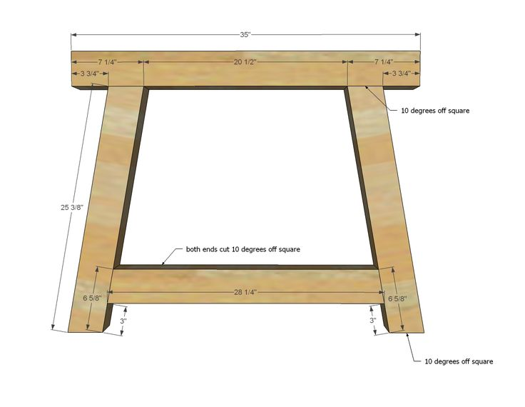 Ana White | Build a 4x4 Truss Beam Table | Free and Easy DIY Project and Furniture Plans