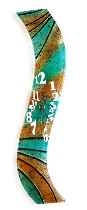 164 best Fused Glass Clocks images on Pinterest Fused glass