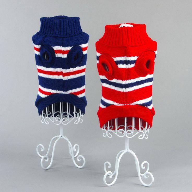 Fashion Dog Clothing for Dogs Sweaters Dog Sweatershirt warm knitting crochet clothes Puppy Dog chihuahua dachshunds pitbull