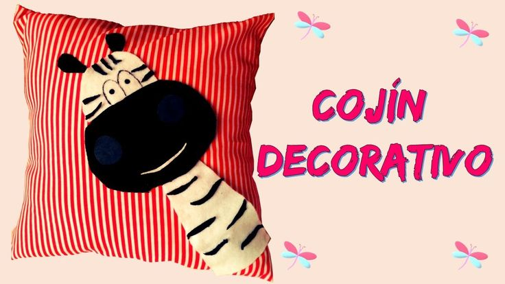 Cojín decorativo - DIY MANUALIDADES