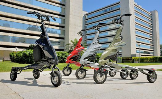 Triciclo elétrico da Chrysler chega ao Brasil