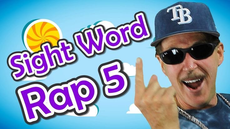 Sight Word Rap 5 | Sight Words | High Frequency Words | Jump Out Words |...