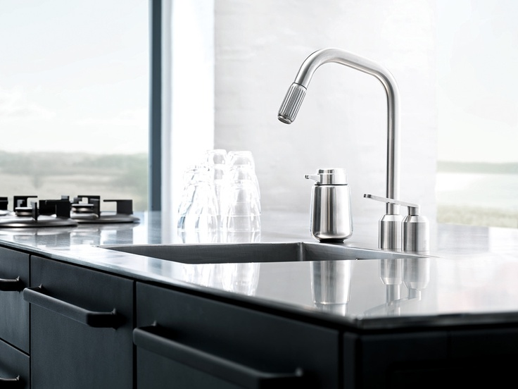 Vipp 901 Kitchen Faucet from Vipp. #design #interior #kitchen