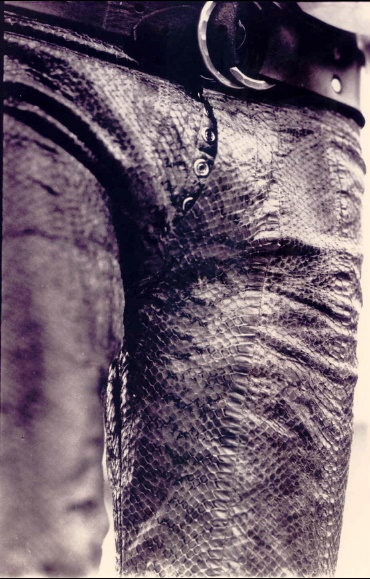 Leather pants à la Lizard King https://en.wikipedia.org/wiki/Jim_Morrison