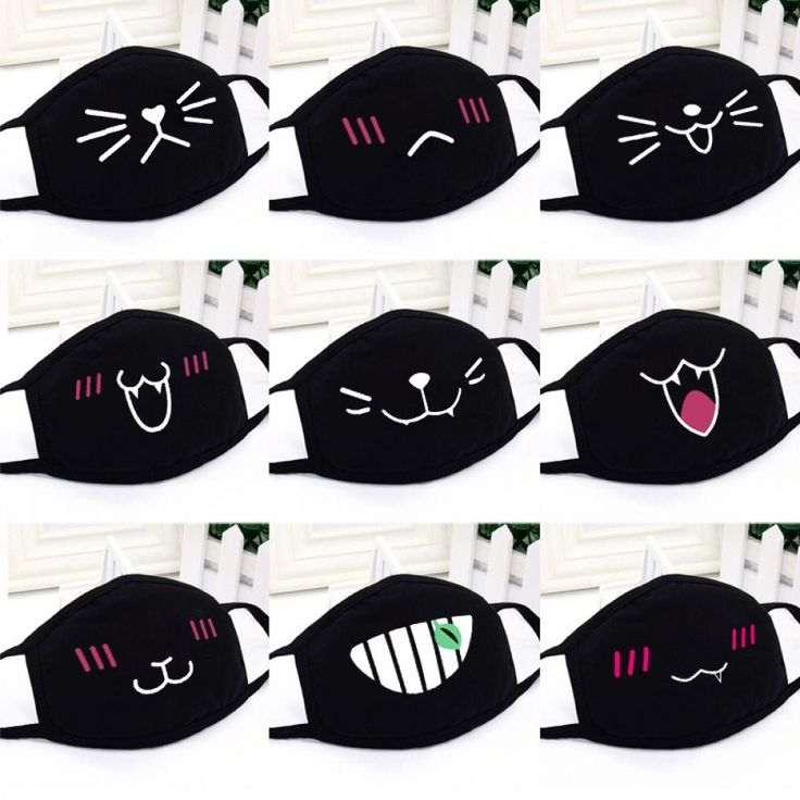 Cute anime face mask in 2020 face mask mask mouth mask