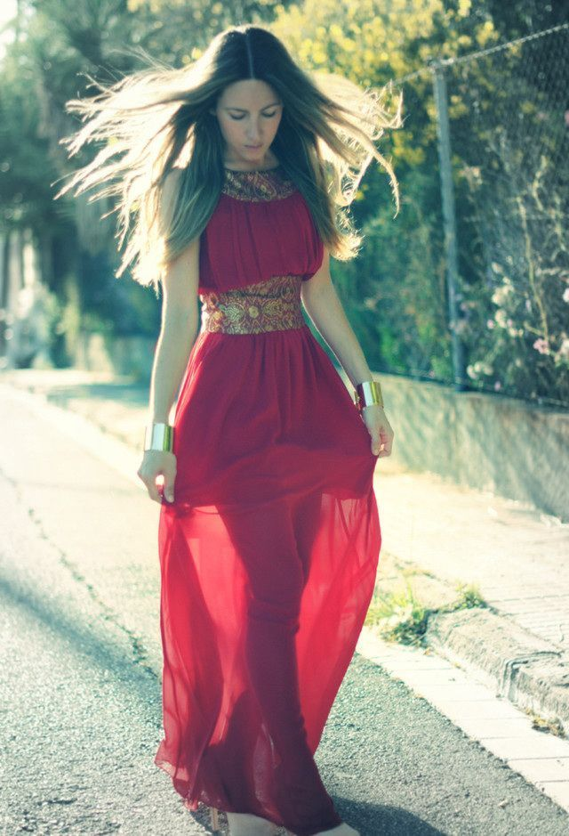 Gorgeous Red Long Prom Dresses 2014 - Dottie Fashion Websites