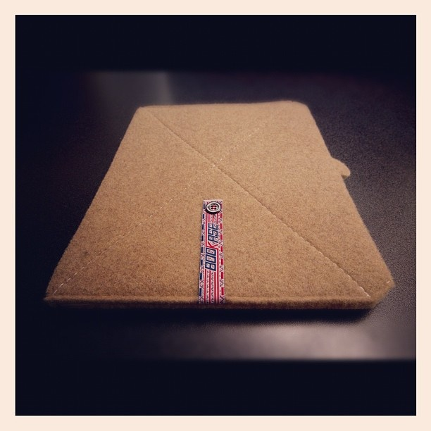 iPad Sleeve mod. Golden, Colorado_Sand by Bookase.it $50