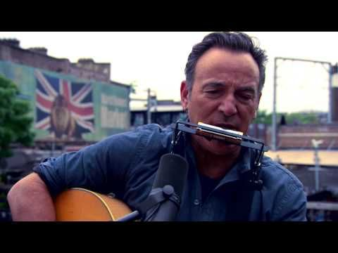 """BRUCE PERFORMS """"THE PROMISED LAND"""" FOR ONE'S AGIT8 CAMPAIGN Bruce lends his voice to agit8 , the new campaign launched by Bono's ONE organization. Agit8 is a music-based campaign that uses the greatest protest songs of all time to promote the fight against extreme poverty. Check out the video below of Bruce performing a special version of """"The Promised Land"""" at Camden Lock in North London for the campaign!"""