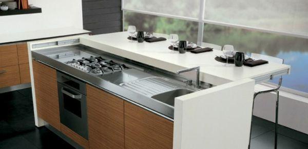 un plan de travail coulissant donnera plus d 39 espace dans votre cuisine cuisine. Black Bedroom Furniture Sets. Home Design Ideas