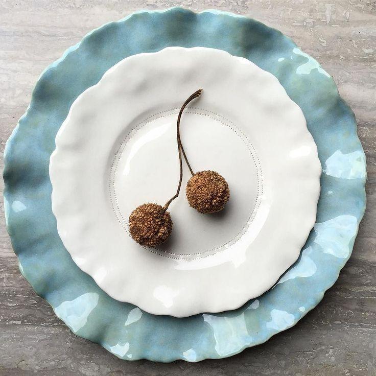 Porcelain plates  www.hartstudios.com.au