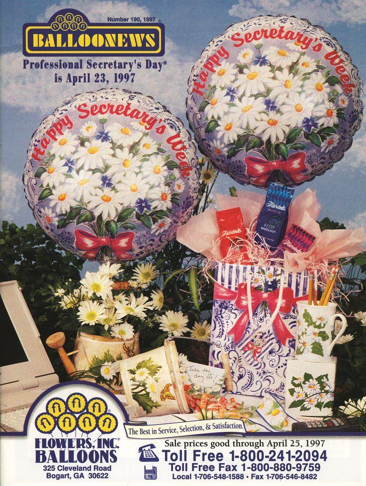 BALLOONEWS: Secretary's Day 1997 #burtonandburton