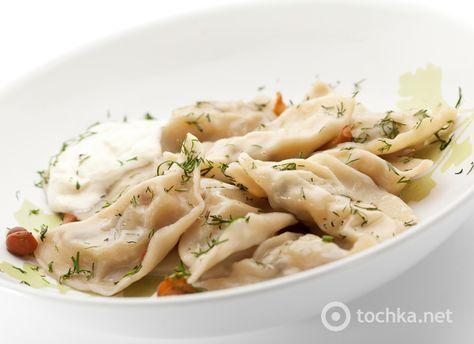 Постные вареники с грибами - tochka.net
