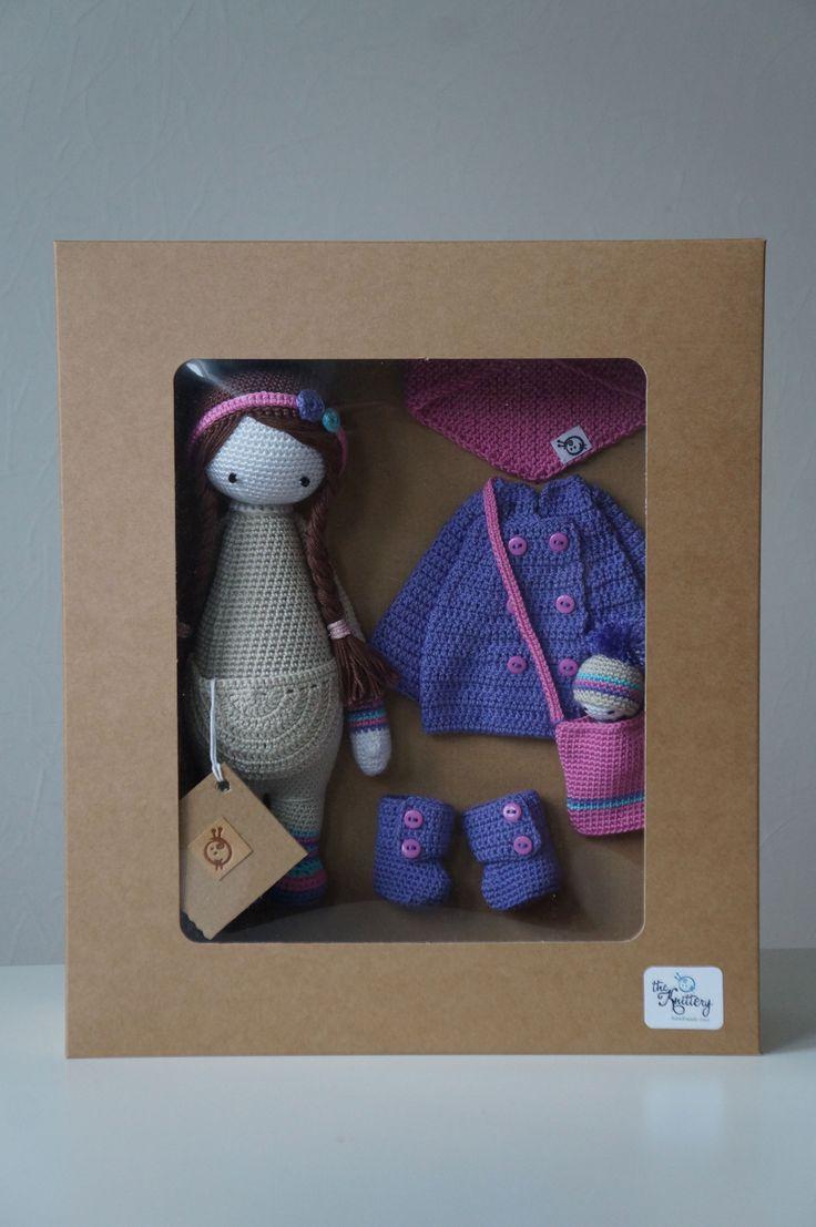 KIRA mod made by Renata S. / crochet pattern by lalylala