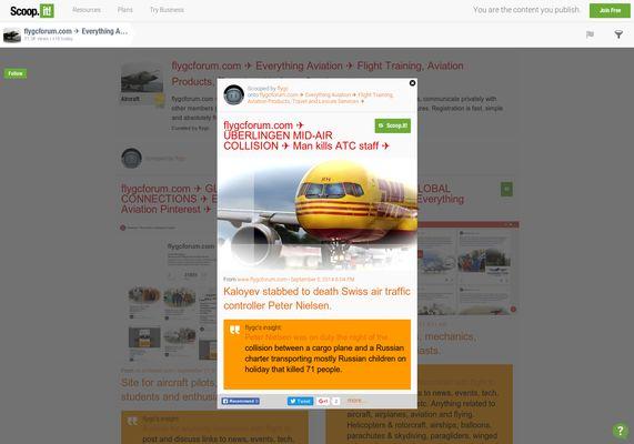 flygcforum.com ✈ ÜBERLINGEN MID-AIR COLLISION ✈ Man kills Swiss Air Traffic Controller ✈