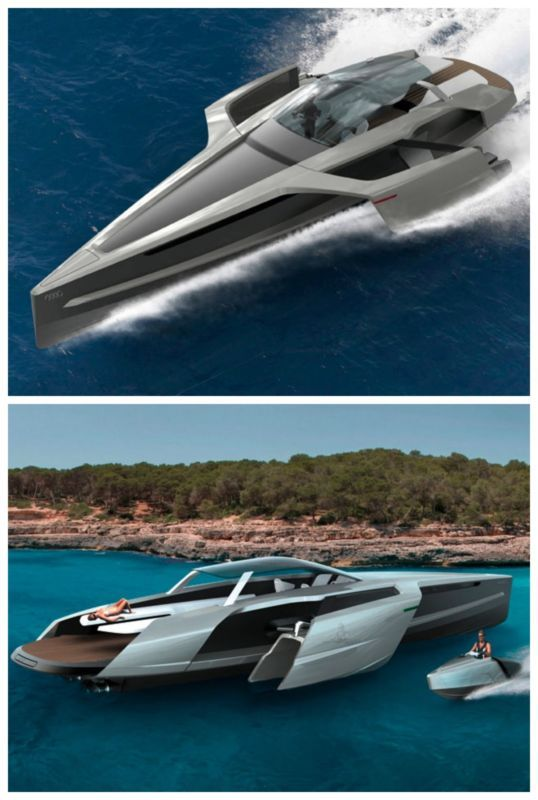 SO COOL! 5 of the Coolest Automotive-Designed Speedboats. What brand could this be? Click to find out. #spon #luxury