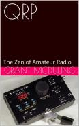 This is my latest book. It's about low powered amateur radio.