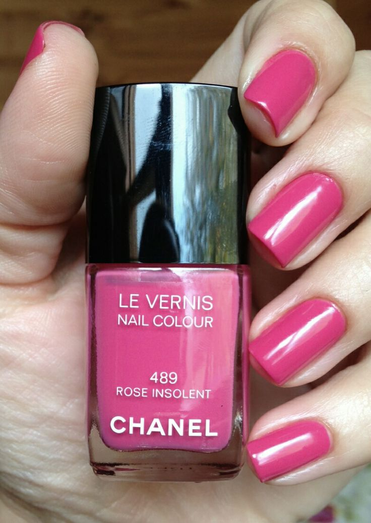 chanel rose insolent
