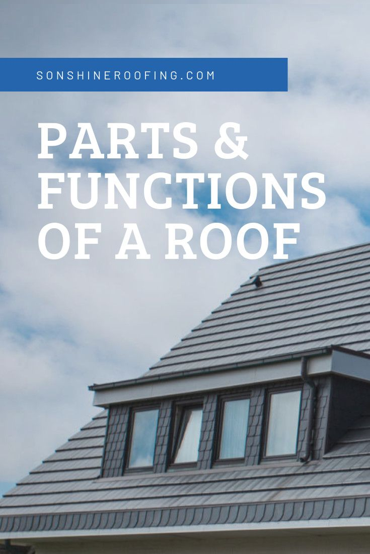 Roofing 101 What Are The Parts Of A Roof Roof Roofing Roof Inspection