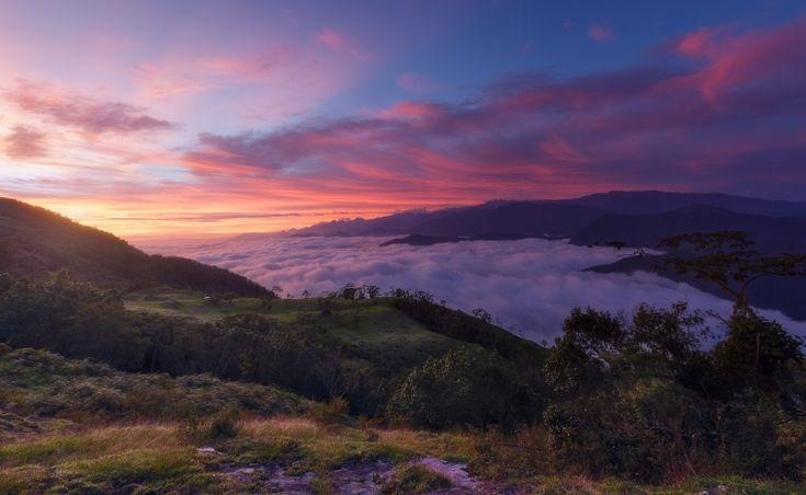 Workshop de fotografia en la Sierra Nevada de Santa Marta (Colombia) para aprender fotografia de paisajes, acompañado por un fotografo profesional