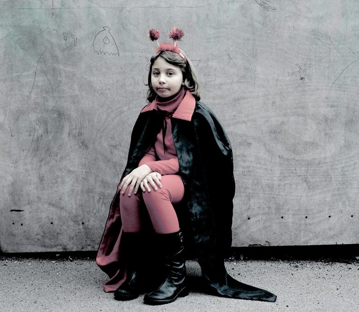7 photos of kids in their halloween costumes lightbox