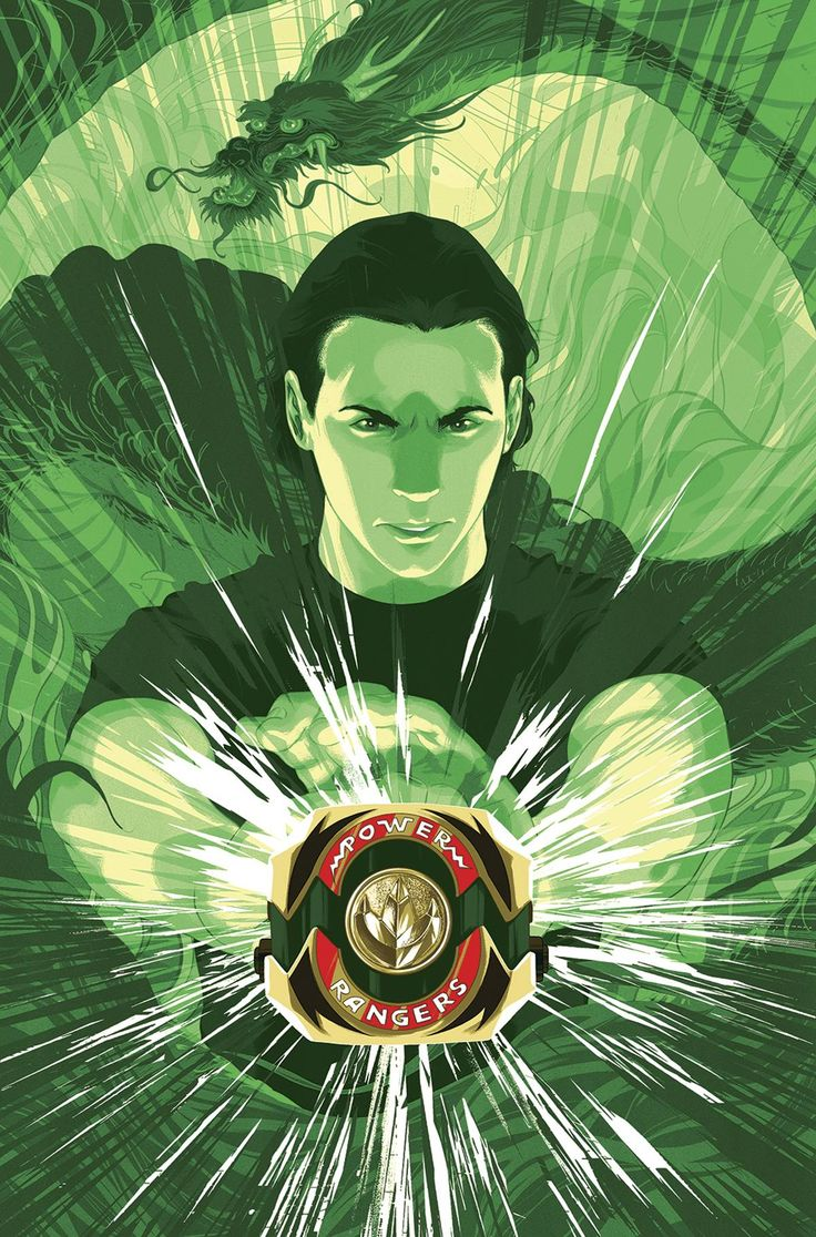 Green Ranger by Goni Montes