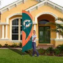 Miami Dolphins 8.5u0027 Tall Applique Team Flag & 81 best Miami Dolphins images on Pinterest | Fan gear Nfl ...