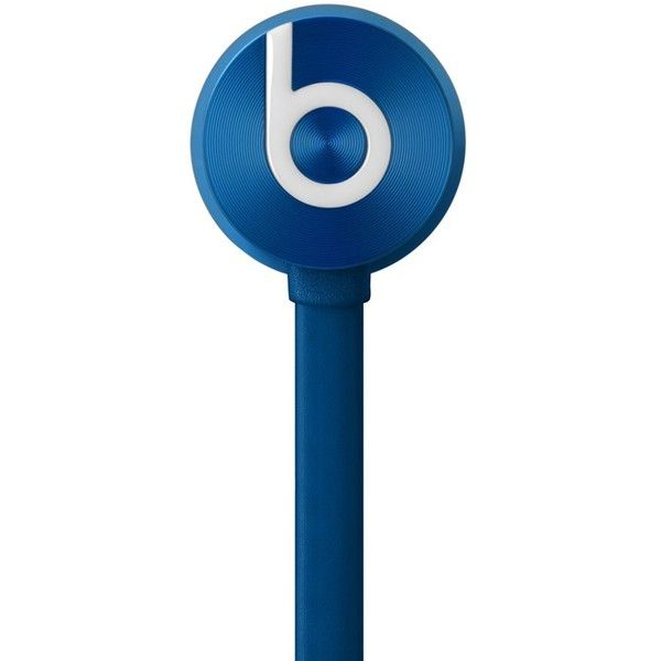 Beats by Dr. Dre 'urBeats' In-Ear ControlTalk® Headphones ($100) ❤ liked on Polyvore featuring men's fashion, men's accessories, men's tech accessories and blue