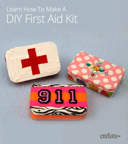 How to Make a DIY First Aid Kit