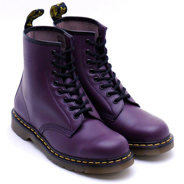 doc martens purple purple and black attack pinterest. Black Bedroom Furniture Sets. Home Design Ideas