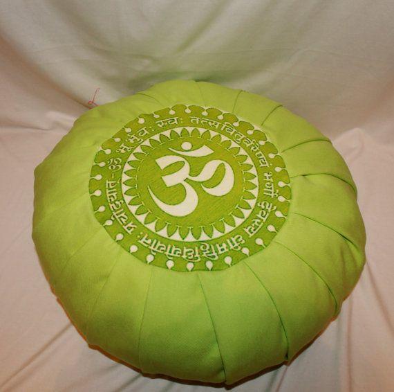 YOga pillow / MEDITATION PILLOWS zafu by rusnadigitalshop, $35.00