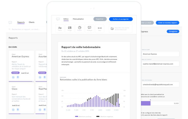 Case study of Send, a beautiful and well crafted report editor application that makes it easy to create effective and nice monitoring report