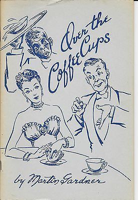 Over the Coffee Cups by Martin Gardner Book Impromptu Dinner Table Magic Tricks Collectibles:Fantasy, Mythical & Magic:Magic:Books, Lecture Notes www.webrummage.com $24.99