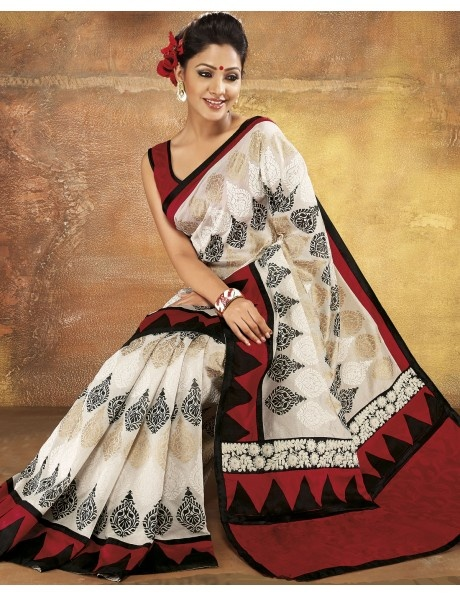 Traditional Touch Saree