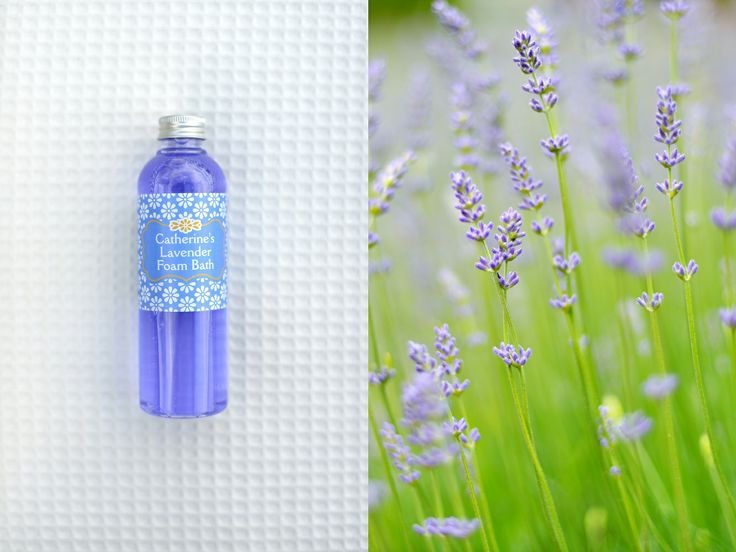 Catherine's Lavender Foam Bath from Catherine's Vineyard Cottages in Csákberény, Hungary