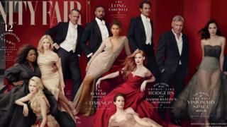 Vanity Fair gives Oprah and Reese Witherspoon extra limbs - BBC News