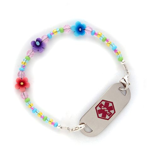 April Showers Medical ID Bracelet- Sarah wants this one!