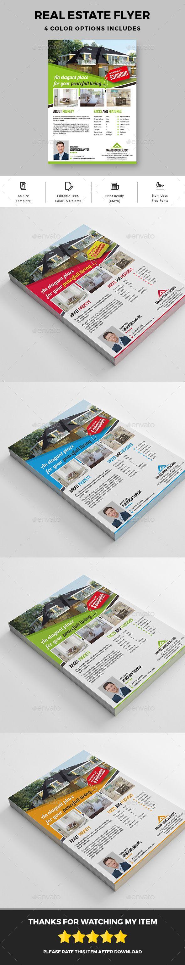 #Real Estate #Flyer - Commerce Flyers