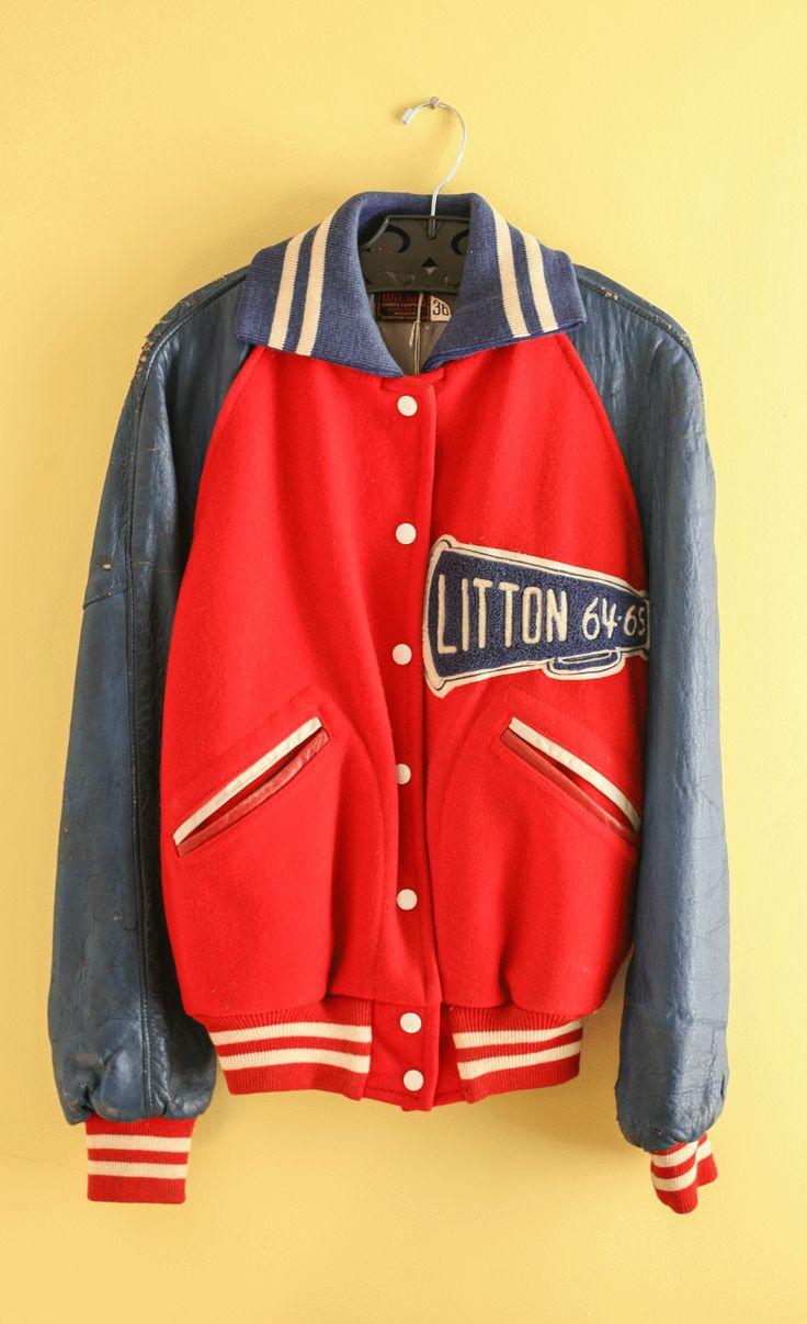 Vintage 196465 Litton High School Cheerleaders Letterman