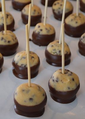 Eggless Chocolate Chip Cookie Dough Bites