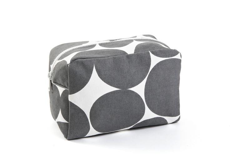 Cosmetic Bag, Gray Dot  SEE DESIGNBags Fit, Bags Inspiration, Ušít Cosmetics Bags, Travel Makeup Bags, Handbags Obsession, Gray Polka Dots, Gray Dots, Design, Bags Ideas