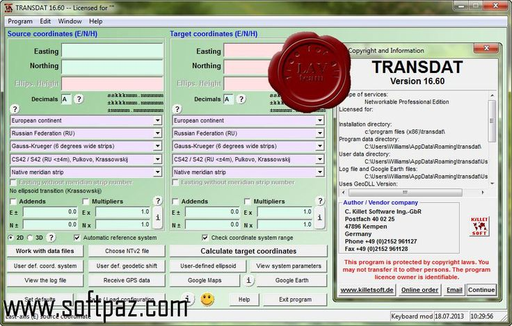 Downloading TRANSDAT has never been so easy! For TRANSDAT windows version installer visit Softpaz - https://www.softpaz.com/software/download-transdat-windows-183351.htm and download at the highest speed possible in this universe!