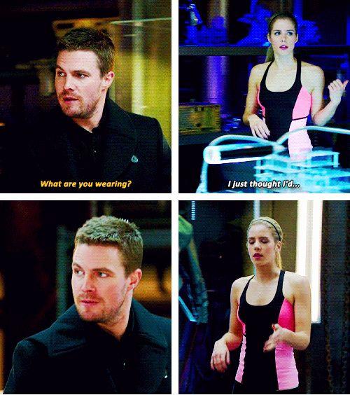 Arrow - Oliver & Felicity #2.14 #Season2 #Olicity